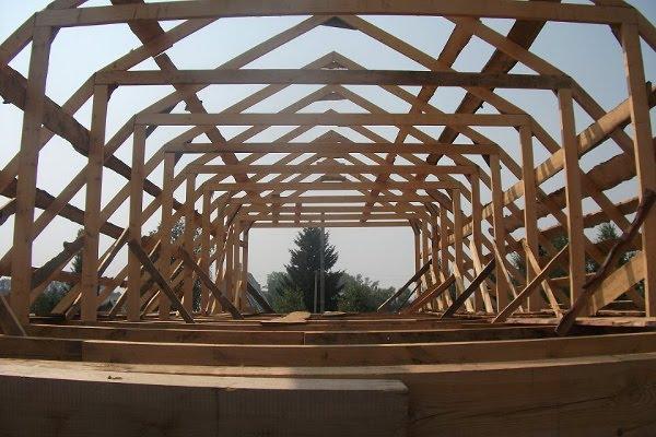 Как сделать мансардную крышу фото 791