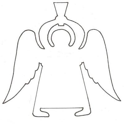 Ангелочки из бумаги своими руками шаблоны распечатать фото 898