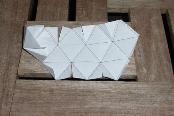 Как сделать из картона икосаэдр фото 189