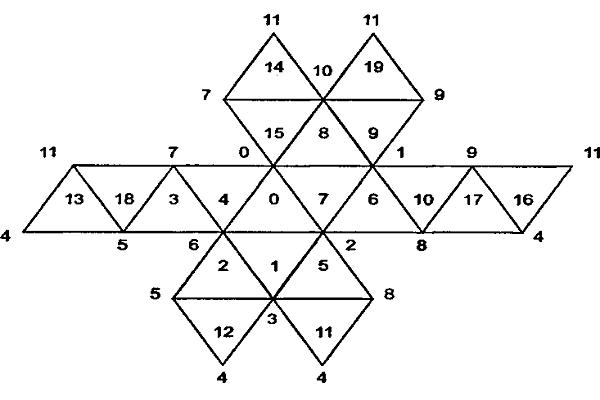 Как сделать из картона икосаэдр фото 343