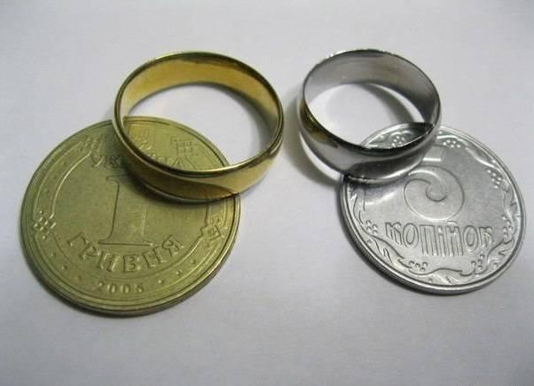 Как сделать в монете дырку 575
