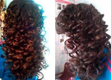 Как сделать кудри на волосах фото 312