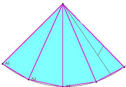 Как сделать пирамиду фото фото 497