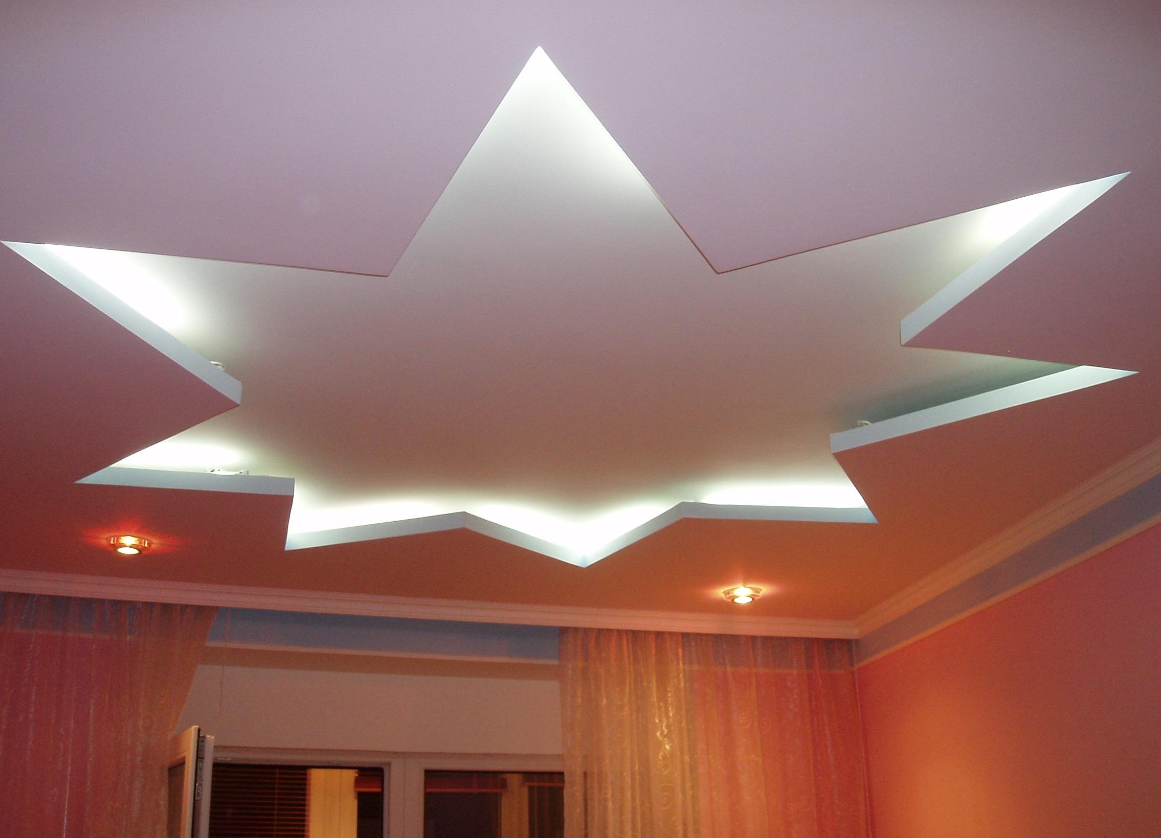 примеры подвесных потолков фото дождливых осенних