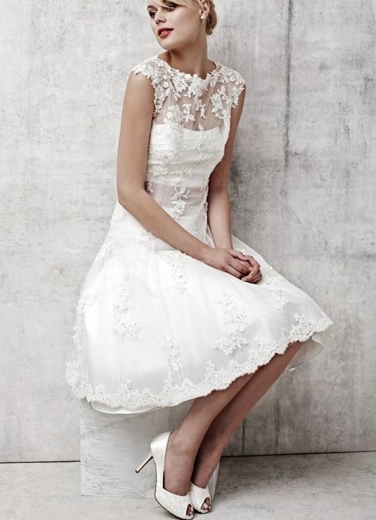 1d77a4358c83590 короткое белое кружевное платье7 ...