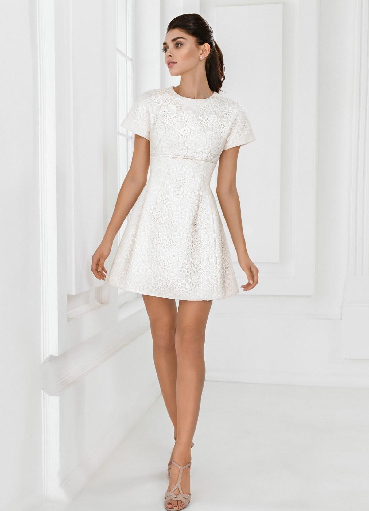d55333adc1f короткое белое кружевное платье7