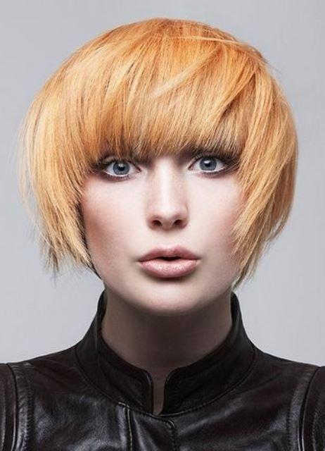 Рыжая краска для волос - какая