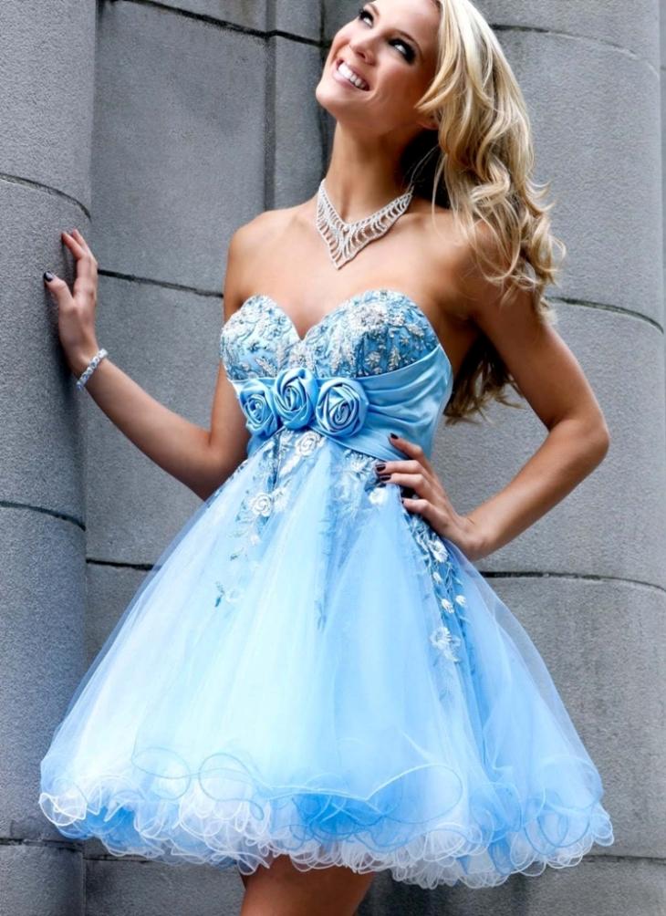 02173fd72ff красивые платья на выпускной короткие 1 ...