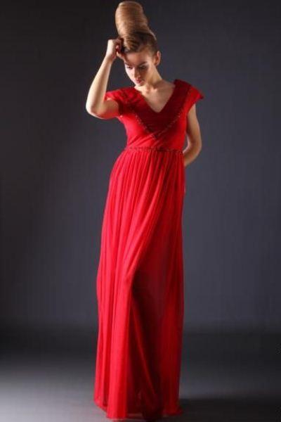 c82105d2894 Красное платье в пол
