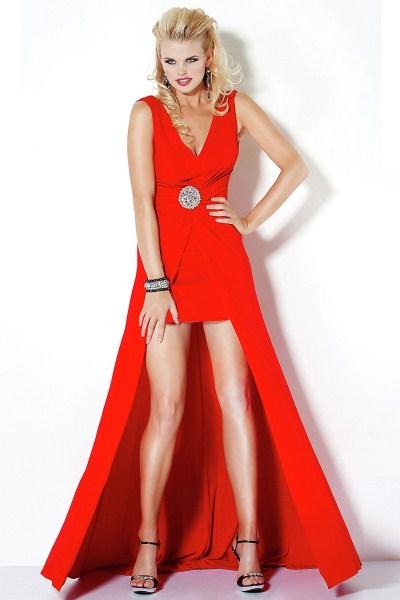 b45522f4665 Красное платье в пол 1 ...