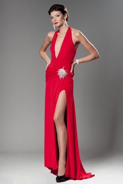 e1e156a37f5 ... Красное платье в пол 8 ...