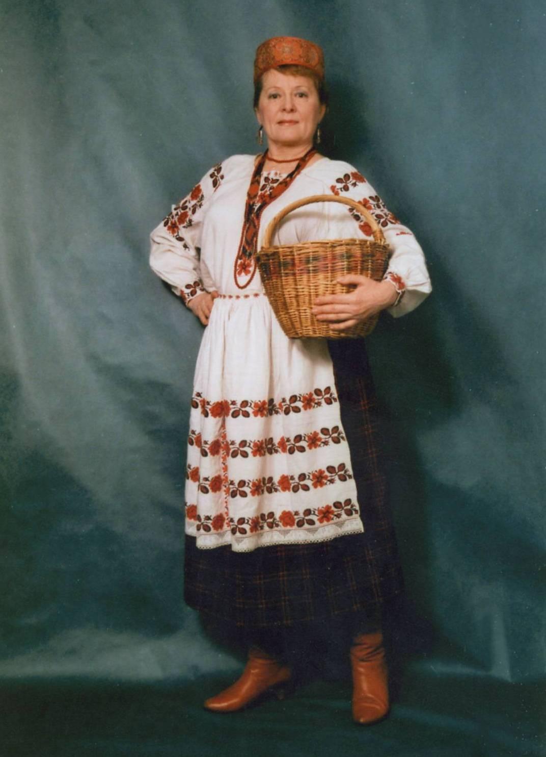 Белорусский костюм фото