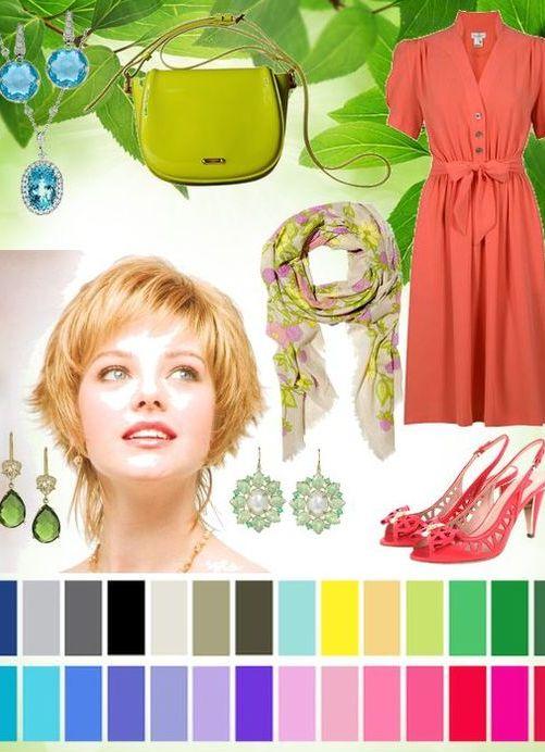 красное цветотип весна фото примеры одежды исключено, что