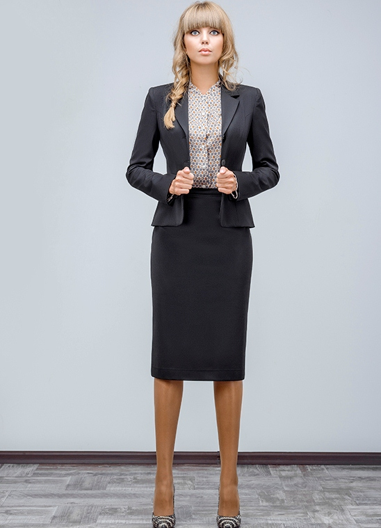 Одежда для полных женщин: деловой костюм (фото) ladyideas. Ru.