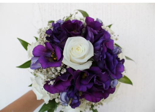 Букет невесты орхидей фиолетовых, адреса оптовикам цветы мира
