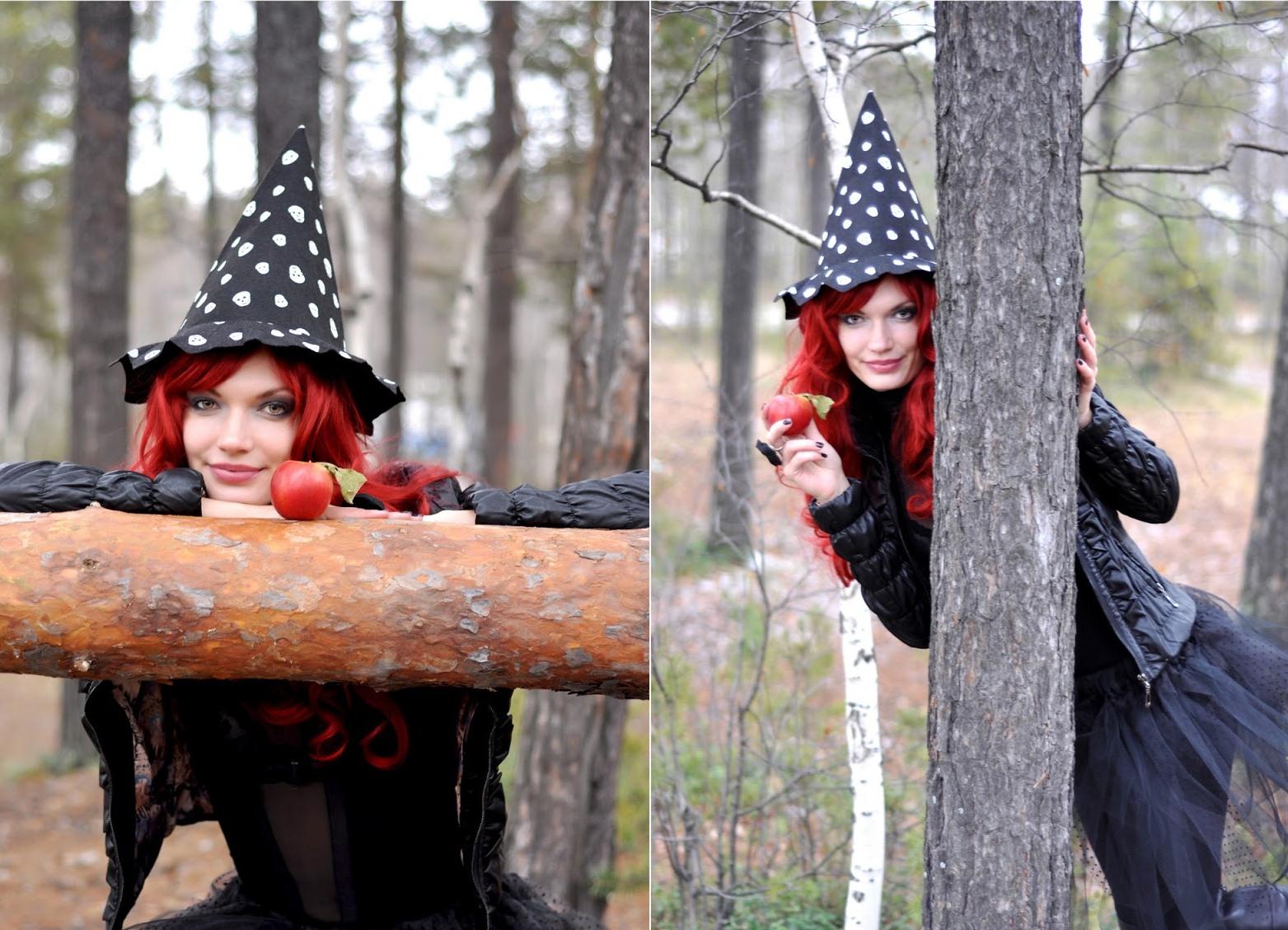 горки идеи для хэллоуина фотосессия чтоб тобою