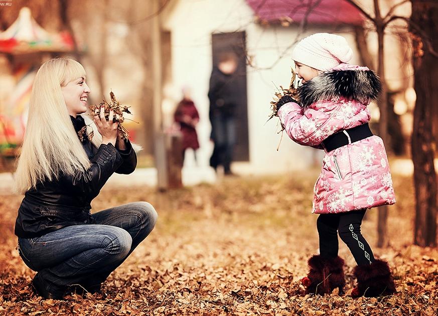 Интересные идеи для фото с дочкой