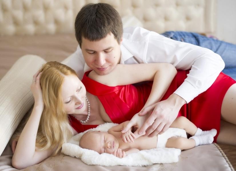 Фотосессия в домашних условиях с ребенком 356