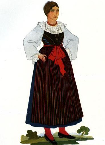 национальный итальянский костюм фото