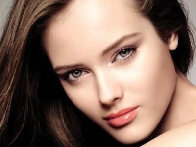 Красивое лицо без макияжа фото