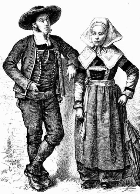 ... как одевались крестьяне в европе 5 ... 7cb0998a624