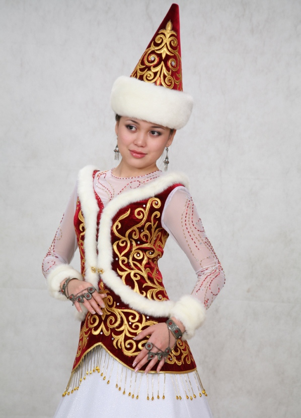 Казахская одежда с картинками