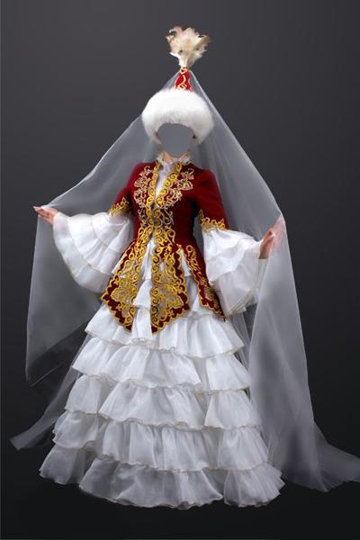 Нацианальный казахский кастюм