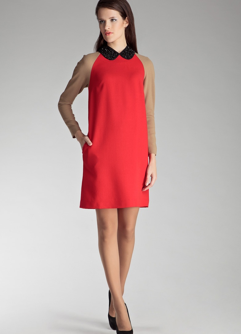 d95e107d2e75 ... красное платье на свадьбу подруги 3