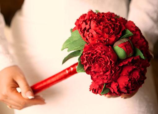 Букеты из красных цветов — img 12