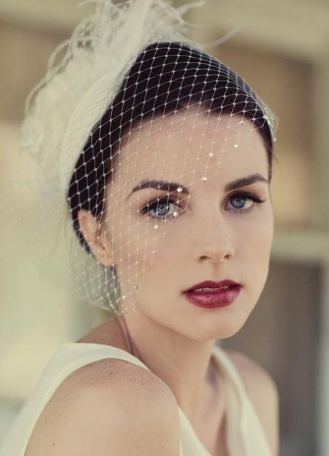 Яркий макияж - для яркой невесты 75