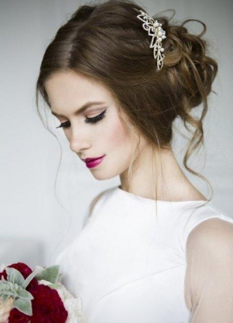 Яркий макияж - для яркой невесты 91