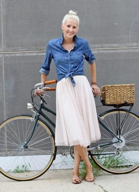 Лучшие модели юбок для женщин с выступающим животом 50