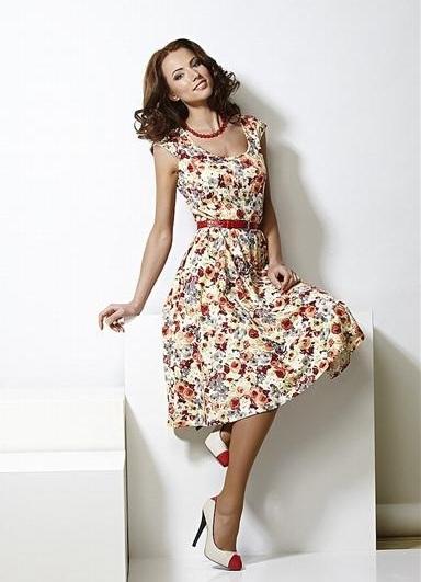 8c57ee27744 Модели летних платьев 2014
