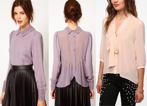 b76ac999e5e ... модные блузки из шифона 2014 2 ...