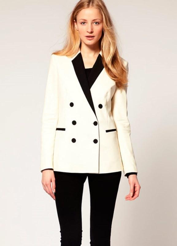 29564bc2a0d1 Женские модные пиджаки 2014