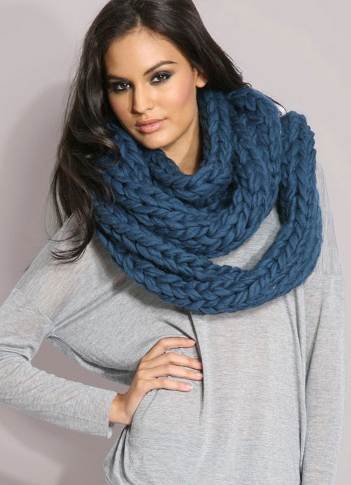 f30356004987 Модные вязаные шарфы