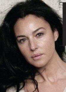 Моника белуччи в молодости без макияжа фото до и после