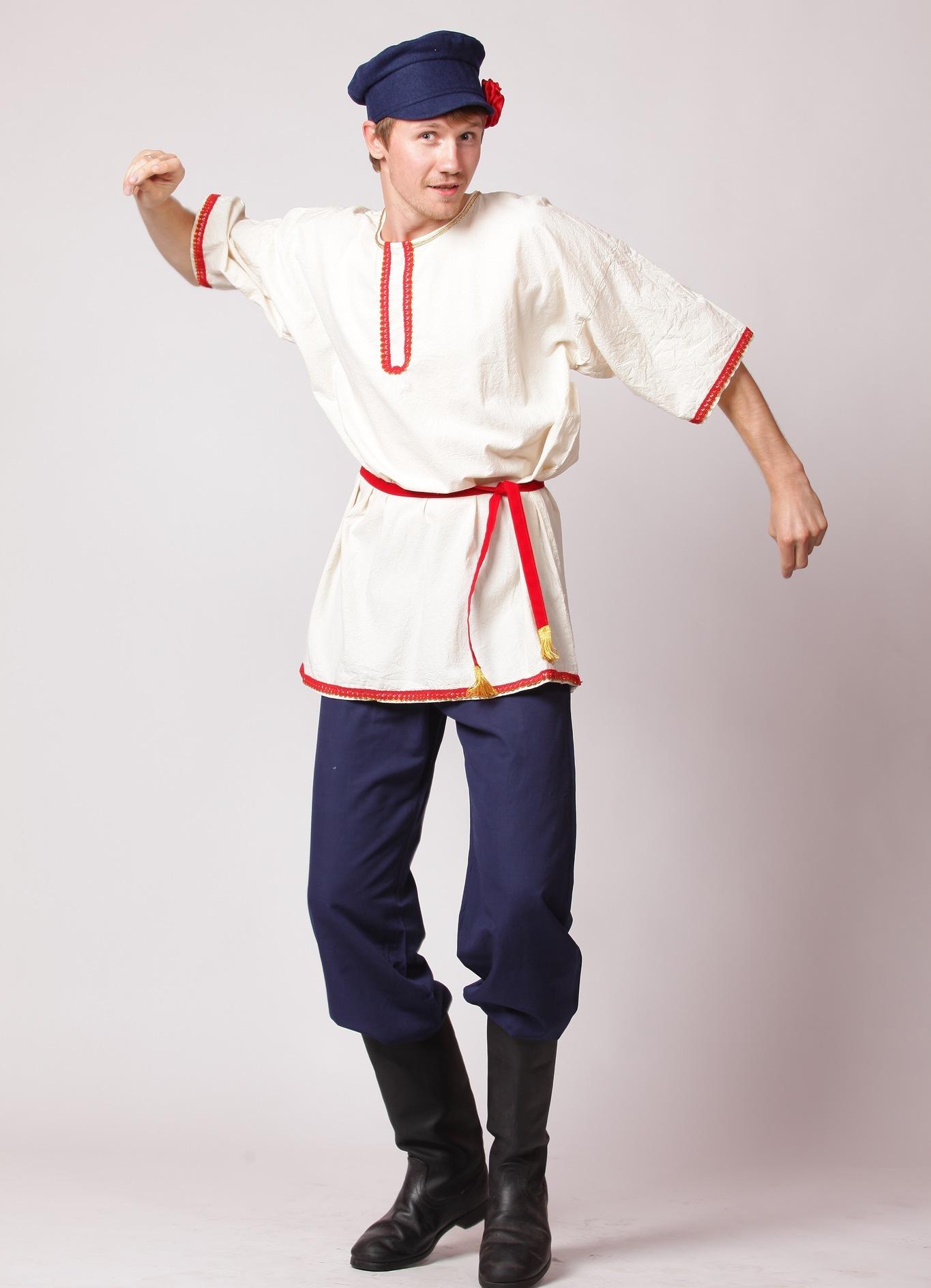 Русские национальные костюмы мужские картинки