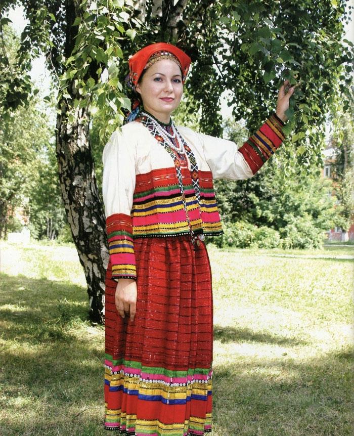 Национальный костюм россии доклад 4212