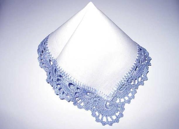 кайма для носового платка красивая