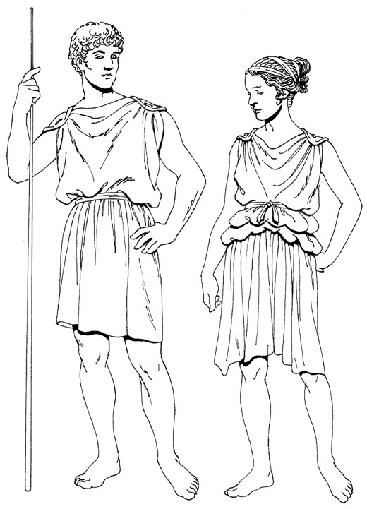 только одежда древнего греции в картинках децла