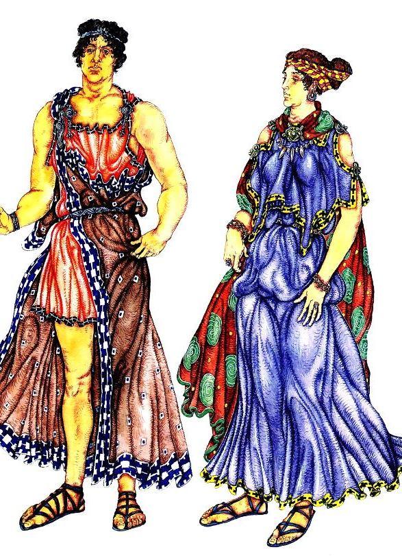 одежда древней греции 4 ... 3569c83acd7
