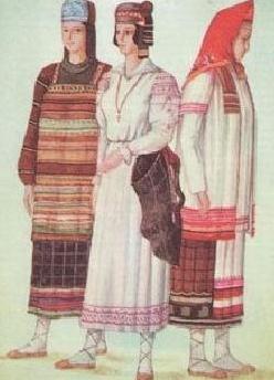 славян картинки одежда