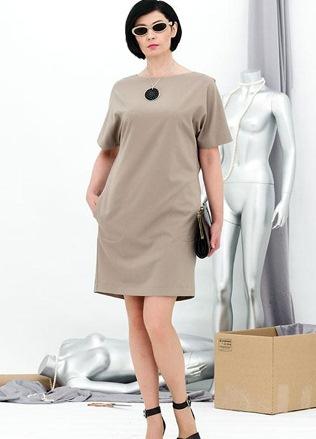 платья прямого силуэта фото