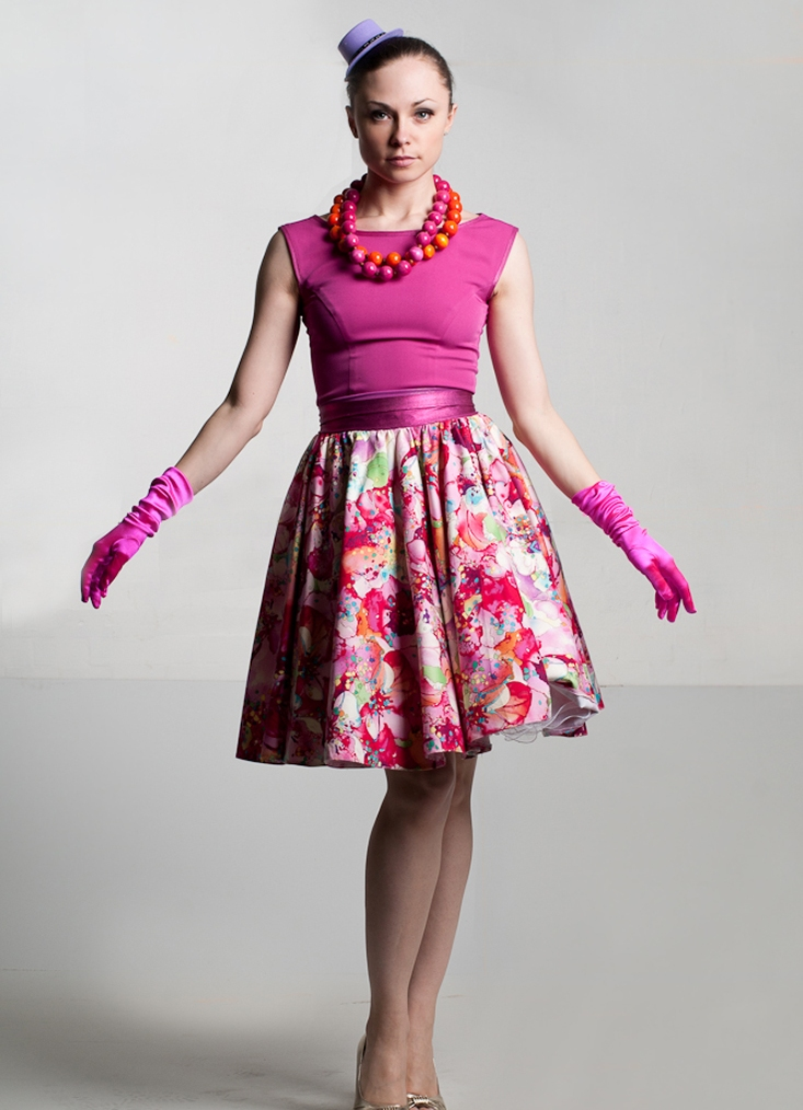Платья в стиле стиляги с выкройками фото 488