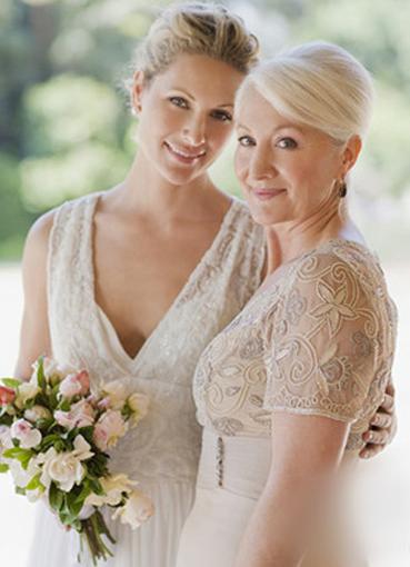 Прическа на короткие волосы для матери невесты 71
