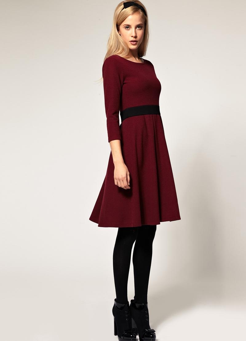 Украшение под бордовое платье 37