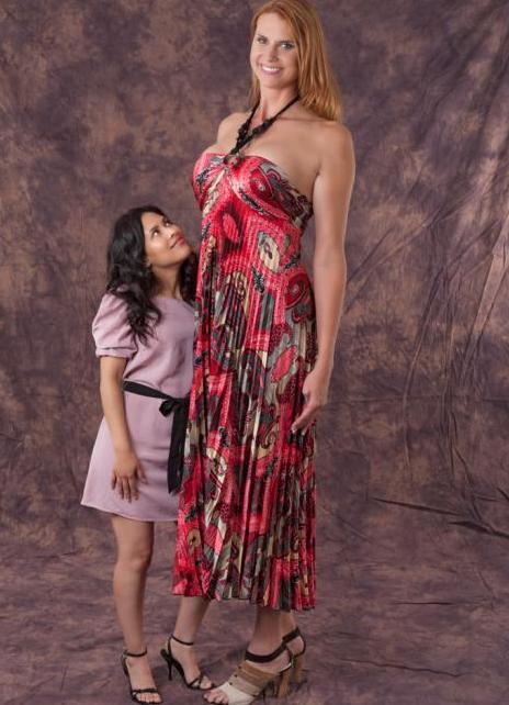 девушки самые высокие фото