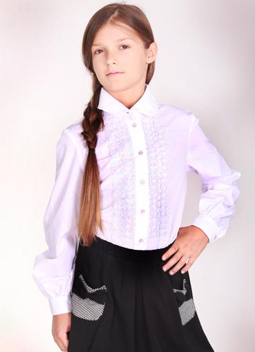 024081833e3 Школьные рубашки для девочек