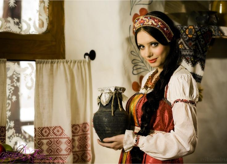 фотосессия в русском стиле с косой рассказать